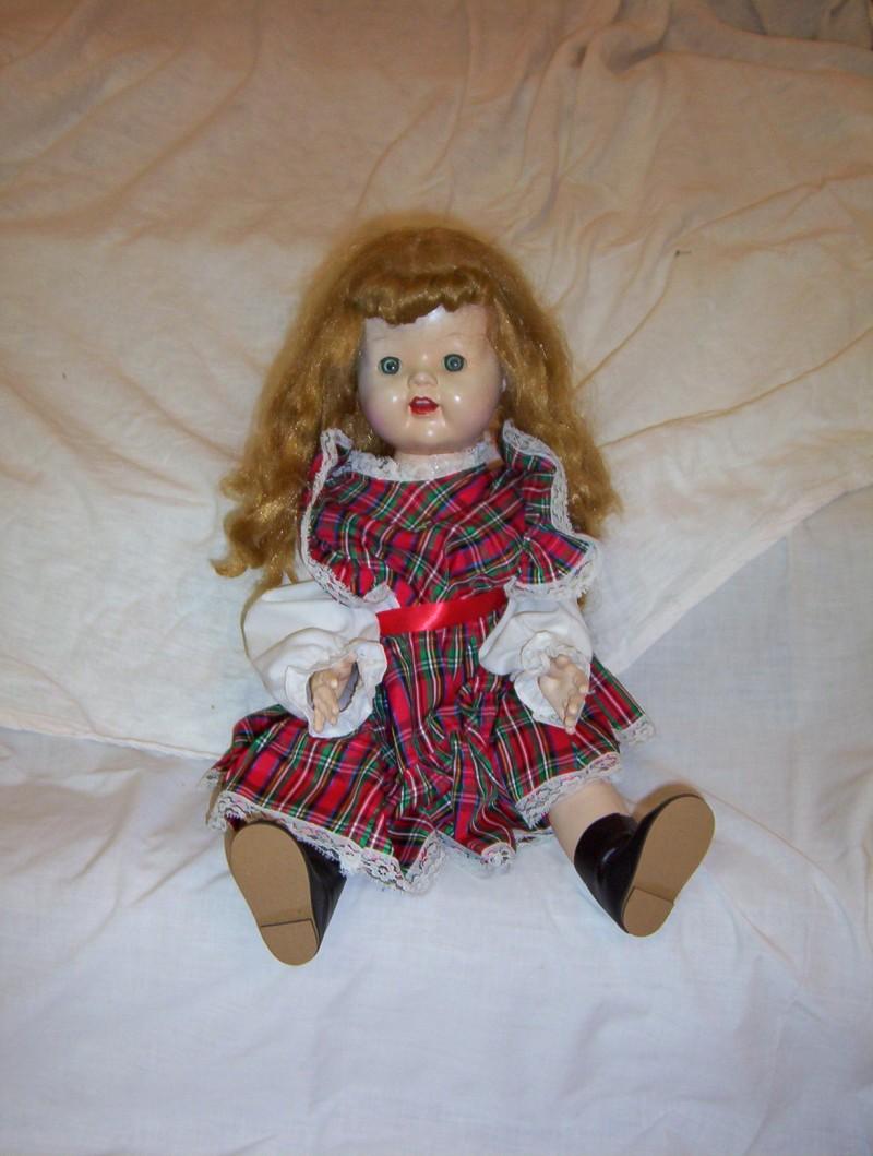 Hard Plastic Walker Doll