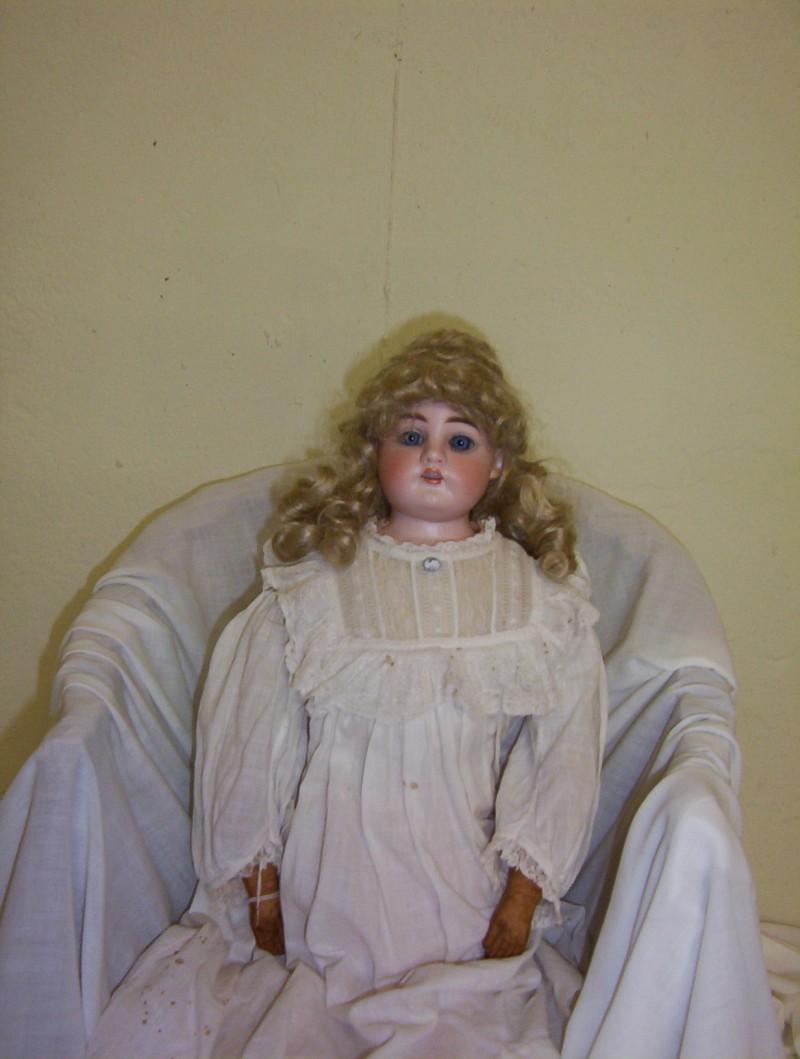 Heinrich Handweck Bisque Doll