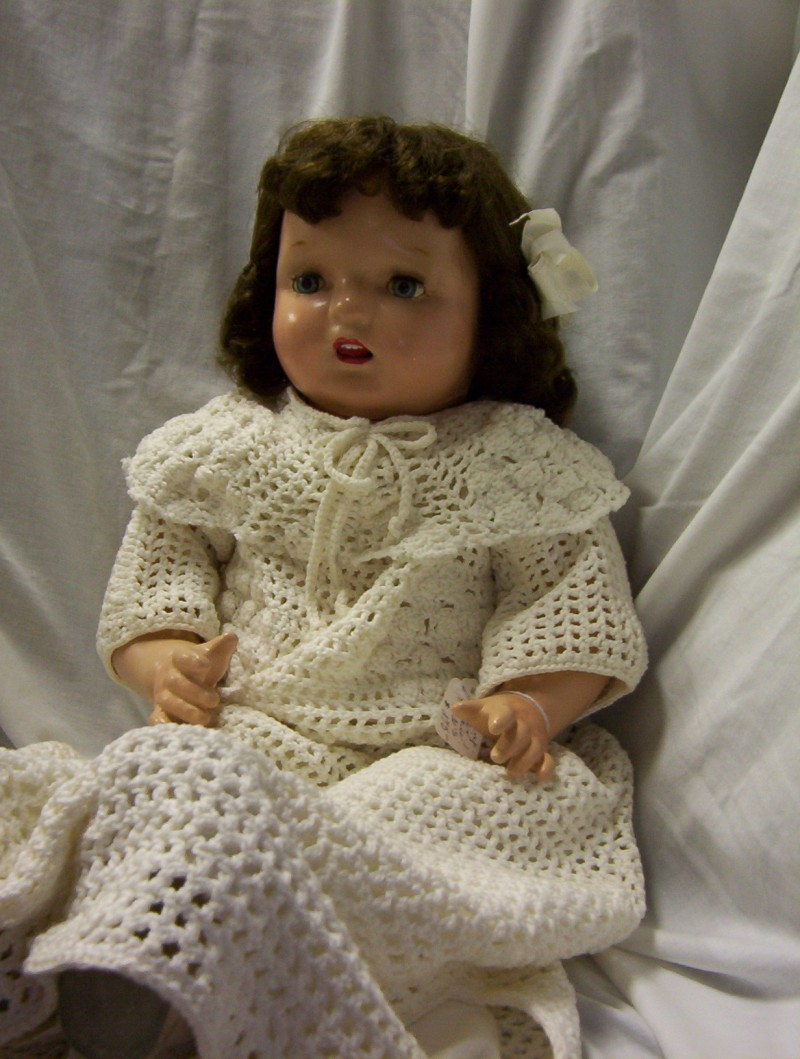 Early Composition Child Doll